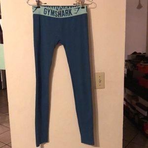 Gymshark teal fit leggings